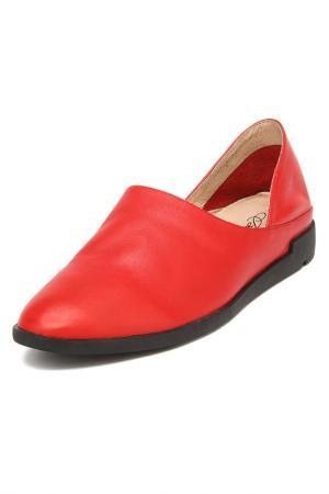 Туфли Berkonty. Цвет: красный