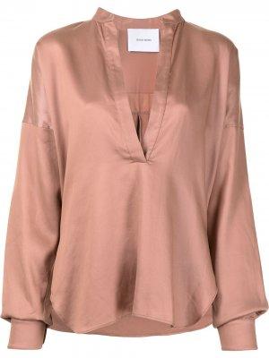 Расклешенная блузка Universal BONDI BORN. Цвет: красный