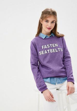 Свитшот Compania Fantastica. Цвет: фиолетовый
