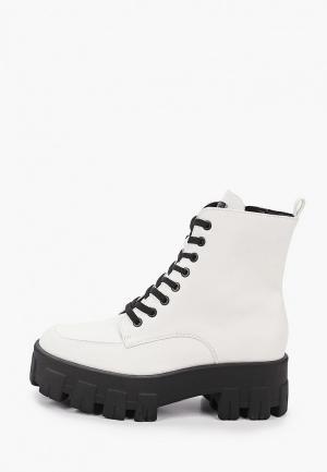 Ботинки Guess. Цвет: белый
