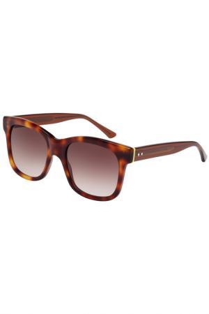 Солнцезащитные очки Christopher Kane. Цвет: коричневый