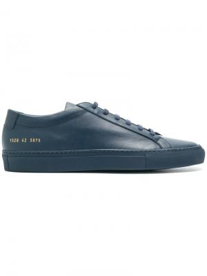Кеды на шнуровке Common Projects. Цвет: синий