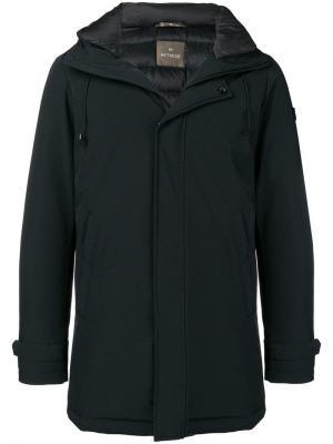Leon hooded coat Hetregò. Цвет: черный