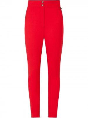 Легинсы с завышенной талией Dolce & Gabbana. Цвет: красный