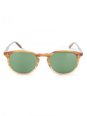 Солнцезащитные очки Kinney Garrett Leight. Цвет: коричневый