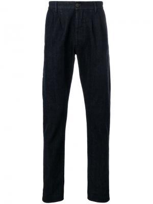 Зауженные джинсы Fortela. Цвет: синий