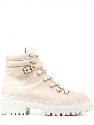 LAutre Chose ботинки на шнуровке L'Autre. Цвет: нейтральные цвета