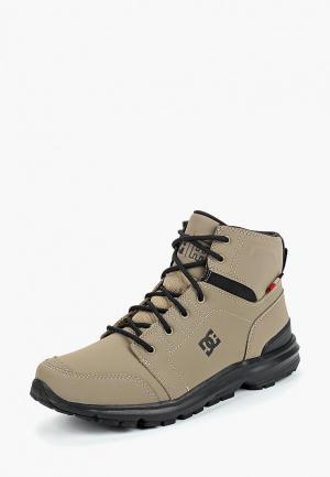 Ботинки DC Shoes. Цвет: серый