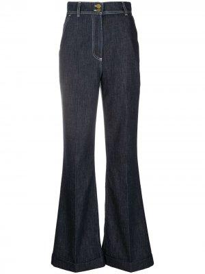 Расклешенные джинсы с завышенной талией Philosophy Di Lorenzo Serafini. Цвет: синий