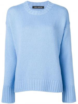 Relaxed fit jumper Iris Von Arnim. Цвет: синий