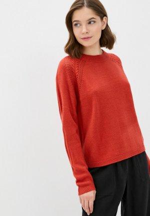 Джемпер Jacqueline de Yong. Цвет: красный