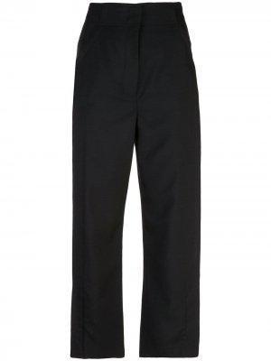 Укороченные брюки строгого кроя Proenza Schouler. Цвет: черный