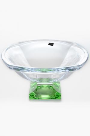 Фруктовница 34 см Crystalite Bohemia. Цвет: прозрачный