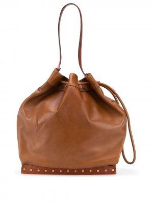 Большая сумка-ведро Sanky Isabel Marant. Цвет: коричневый