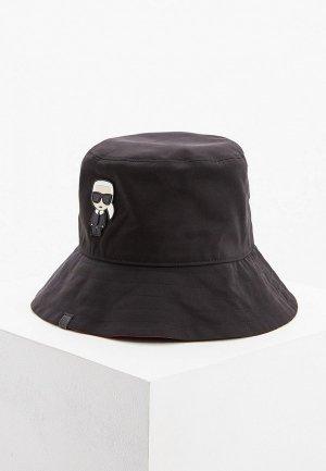 Панама Karl Lagerfeld. Цвет: черный