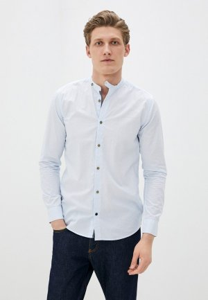 Рубашка Only & Sons. Цвет: голубой