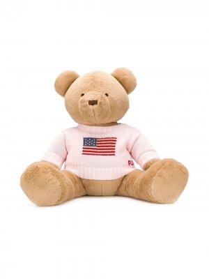 Мягкая игрушка в виде медведя Ralph Lauren Kids. Цвет: нейтральные цвета