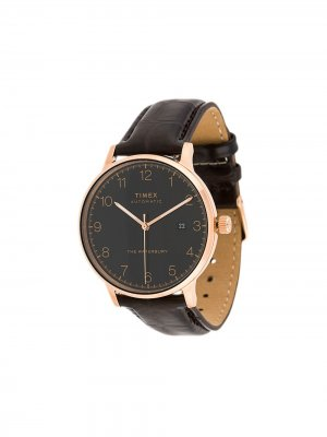 Наручные часы Waterbury Classic Automatic 40 мм TIMEX. Цвет: коричневый