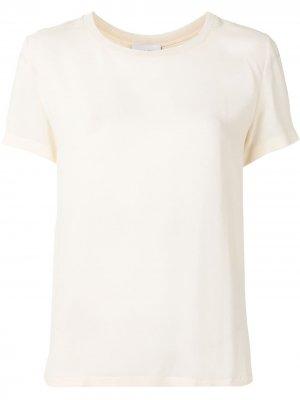 Блузка свободного кроя Giambattista Valli. Цвет: белый