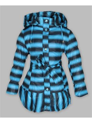Пальто Arista. Цвет: темно-серый, голубой