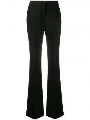 Расклешенные брюки Cady Aspesi. Цвет: черный