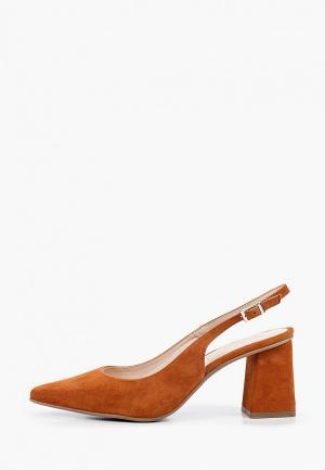 Туфли Lamania. Цвет: коричневый