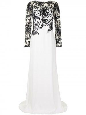 Платье Haruki Tadashi Shoji. Цвет: белый
