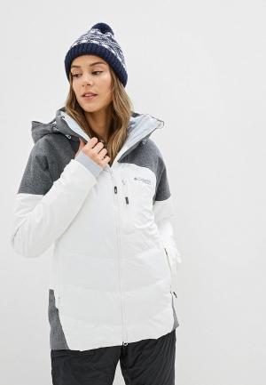 Куртка горнолыжная Columbia. Цвет: белый
