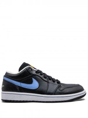 Кроссовки Air  1 Phat Low Jordan. Цвет: черный