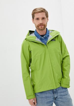Ветровка Patagonia. Цвет: зеленый