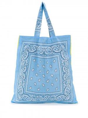 Пляжная сумка Bandana Arizona Love. Цвет: желтый