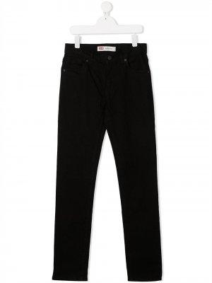 Levis Kids джинсы скинни 510 Levi's. Цвет: черный