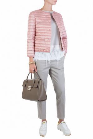 Куртка ADD. Цвет: розовый
