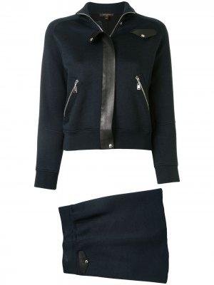 Костюм с юбкой Louis Vuitton. Цвет: синий