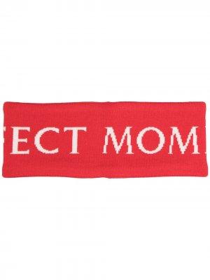 Повязка на голову с логотипом Perfect Moment. Цвет: красный