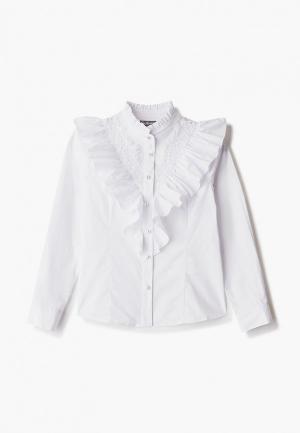 Блуза Gulliver. Цвет: белый