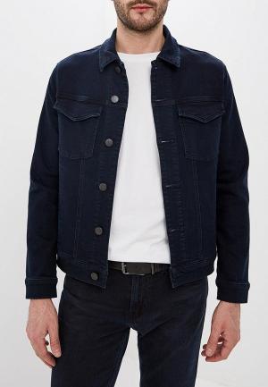 Куртка джинсовая J Brand. Цвет: синий