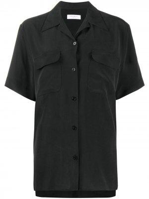 Однотонная рубашка Equipment. Цвет: черный