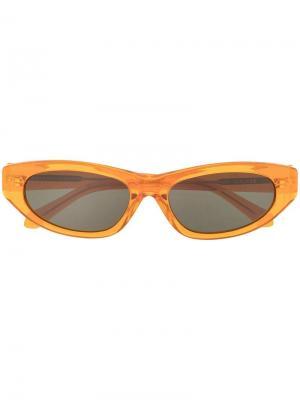 Солнцезащитные очки Paradise Lost Karen Walker. Цвет: оранжевый