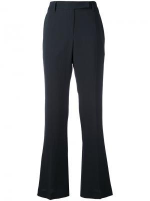 Расклешенные брюки Brunello Cucinelli. Цвет: черный