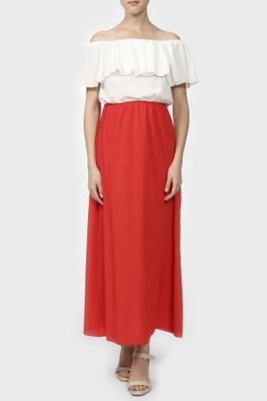 Платье LEBBEL. Цвет: мультиколор