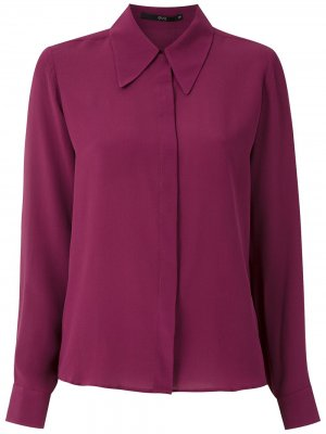 Рубашка на пуговицах Eva. Цвет: красный