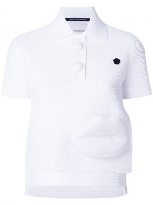Рубашка Capsule Polo 1.1 Viktor & Rolf. Цвет: белый