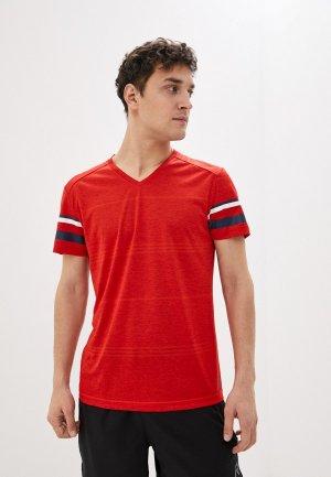 Футболка спортивная Rukka. Цвет: красный
