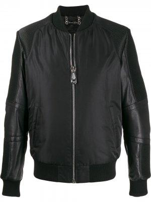 Куртка-бомбер Philipp Plein. Цвет: черный