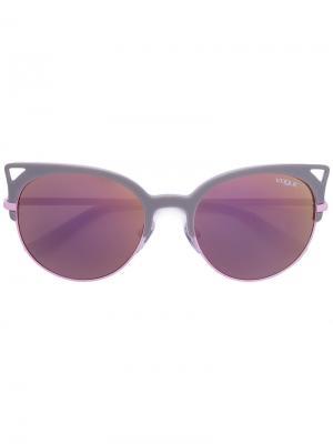 Солнцезащитные очки VO5137S Vogue Eyewear. Цвет: розовый и фиолетовый