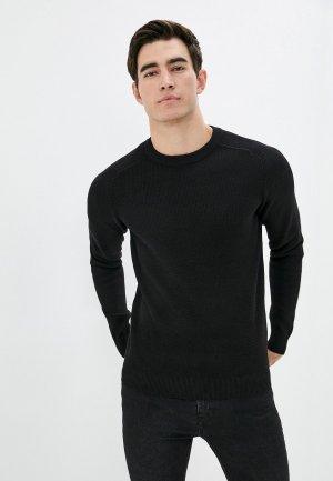 Джемпер Selected Homme. Цвет: черный