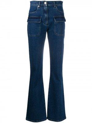 Расклешенные джинсы Alberta Ferretti. Цвет: синий