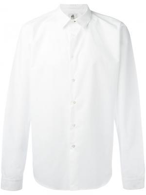 Классическая рубашка Ps By Paul Smith. Цвет: белый