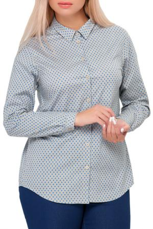 Рубашка Limonti. Цвет: серый